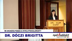 Dr. Dóczi Brigitta előadása