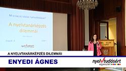 Enyedi Ágnes előadása