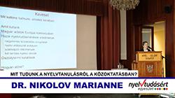 Dr. Nikolov Marianne előadása